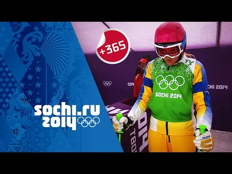 Bronze Medalist Anna Holmlund relives Women's Ski Cross event - Sochi Rewind | #Sochi365