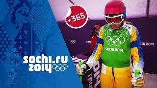 Olympics: Bronze Medalist Anna Holmlund relives Women's Ski Cross event - Sochi Rewind | #Sochi365