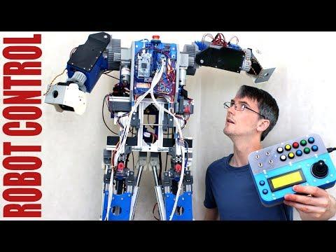 Building Robot X #10 | Robot Arm Control | James Bruton