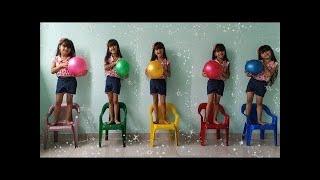 Five little monkeys 🙈 동요와 어린이 노래 | Kids Song / JULIA FOI CLONADA
