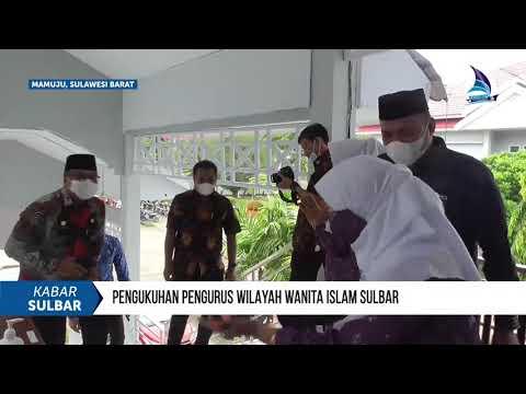 Pengukuhan Pengurus Wilayah Wanita Islam Sulbar