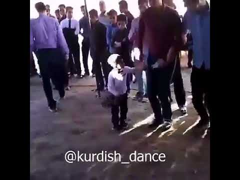 Very talented Iranian kid dancing Kurdish
