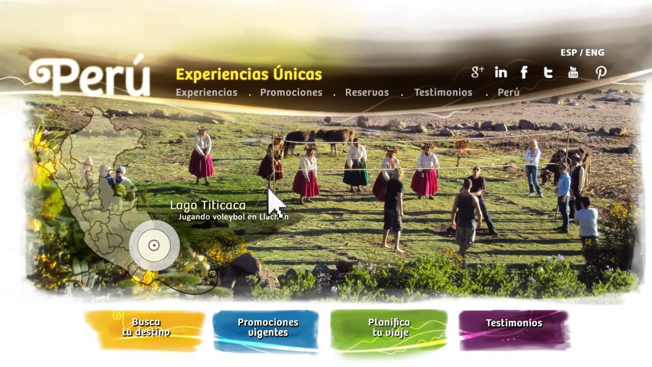 Página Web De Exploracionazul: Presentación De La Página Web De Turismo Rural Comunitario