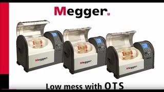megger ots a cleaner oil test