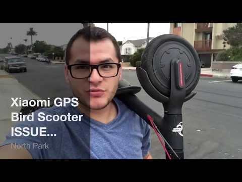 Xiaomi GPS Bird Scooter - New Programming, an issue for on scooter chargers on foot