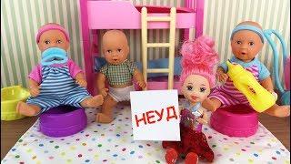 В ДЕТСКИЙ САД НАВСЕГДА? Мультик #Барби Школа Куклы Игрушки Для девочек