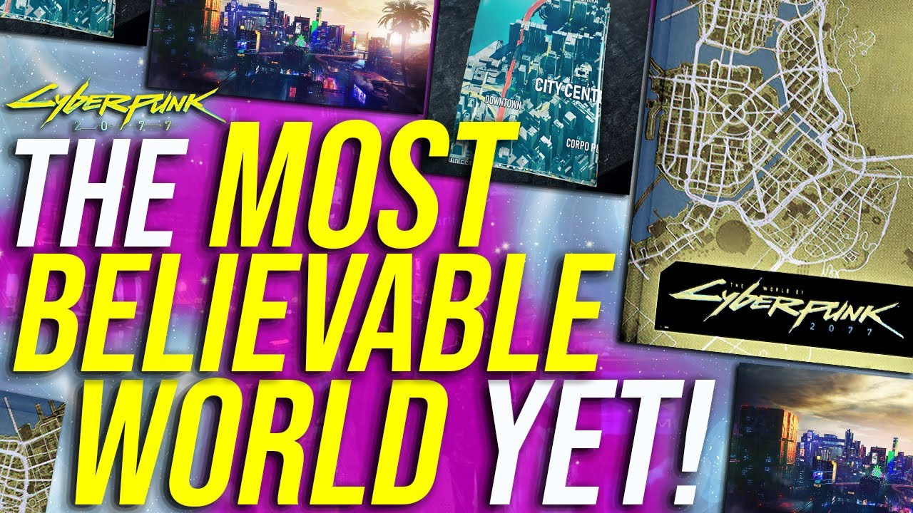 5 Reasons Cyberpunk 2077's Open World Will Be The MOST BELIEVABLE World Yet! thumbnail