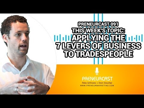 PreneurCast091: If I Was A... Tradie