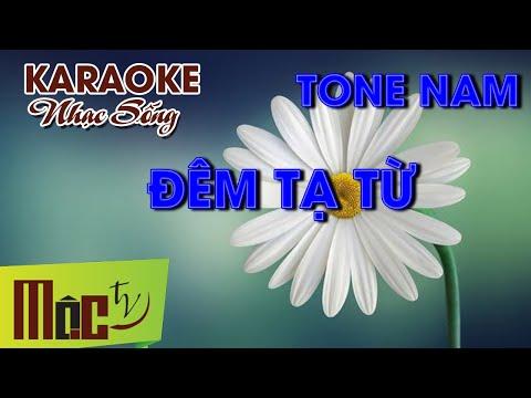 Karaoke Đêm Tạ Từ - Dương Ngọc Thái   Chuẩn MOCTV