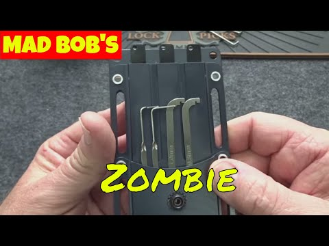1102) Review: Mad Bob's ZOMBIE Lock Pick Kit - YouTube