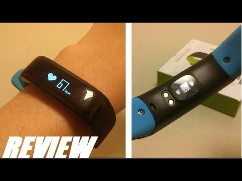 REVIEW Culturesin HR Blood Pressure Fitness Tracker! - YouTube