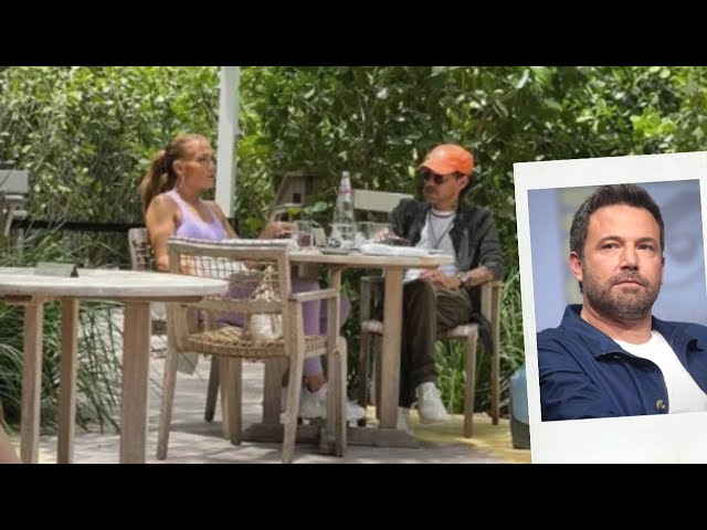Jennifer Lopez Spotted Having Coffee With Ex Marc Anthony Amid Blossoming Romance With Affleck