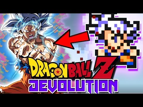 MASTER ULTRA INSTINCT GOKU IN DBZ DEVOLUTION! | Dragon Ball Z Devolution (Update)