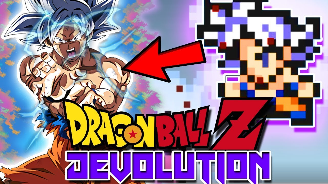 MASTER ULTRA INSTINCT GOKU IN Dragon Ball Z Devolution 1-2