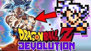 MASTER ULTRA INSTINCT GOKU IN DBZ DEVOLUTION! | Dragon Ball Z Devolution (Update)