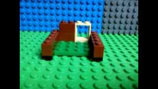 Lego Mini Series 1.0 How To Build A Lego Modern Bunny Cage !