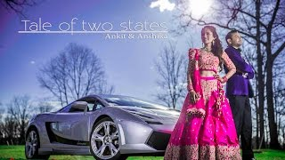 Film Style Indian Wedding Highlights. N.D.E.   Cinematic Films   Ankit & Anshika