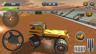 Monster Truck Demolition Derby: Extreme Stunts By Virtual - Apps & Games HD Android Gameplay