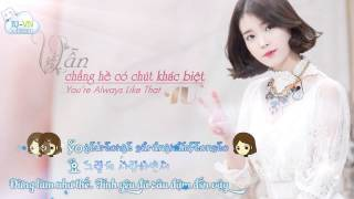 [Vietsub + Kara + Hangeul] You are always like that (OST Strike Love 2009) - IU