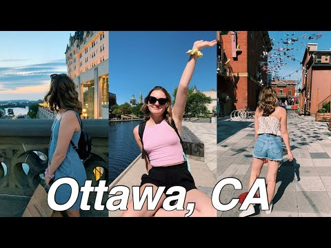 SPENDING 24 HOURS IN OTTAWA, CANADA // Day In My Life: Travelling to Ottawa