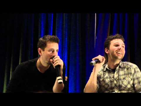 Gabriel Tigerman & Elias Toufexis Panel  Supernatural Toronto Con 2011