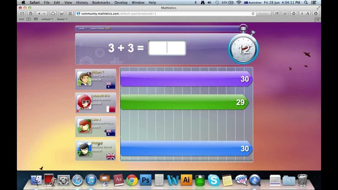 mathletics level 1 - YouTube