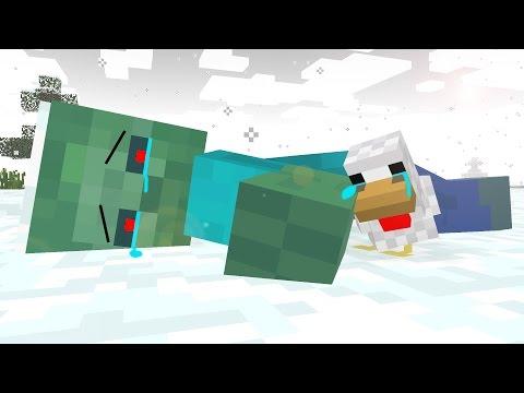 Zombie Life 3 - Craftronix Minecraft Animation - Видео из Майнкрафт (Minecraft)