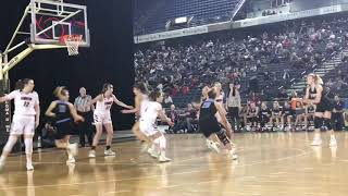 Highlights of Union's 61-53 loss in 4A girls semifinals