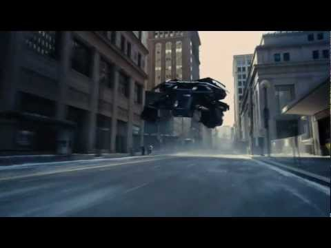 The Dark Knight Rises - Bomb Chase Scene (HD) IMAX
