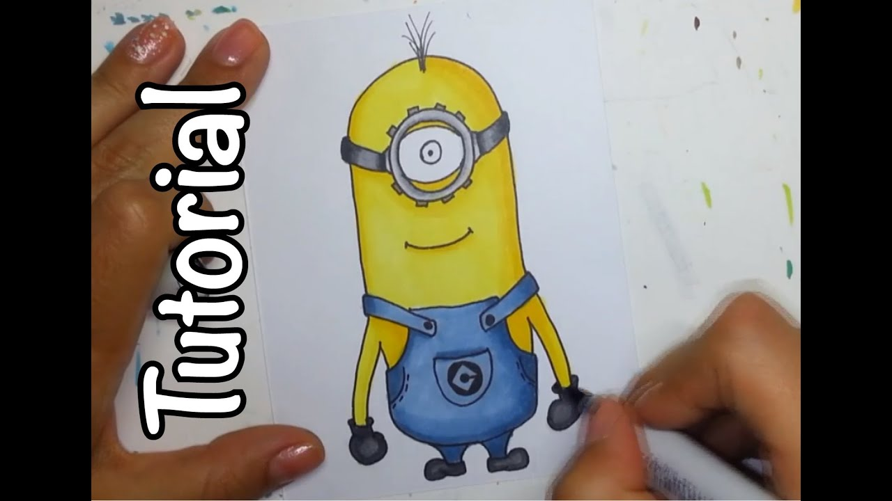 Show me how to draw a minion - Show Me How To Draw A Minion 43