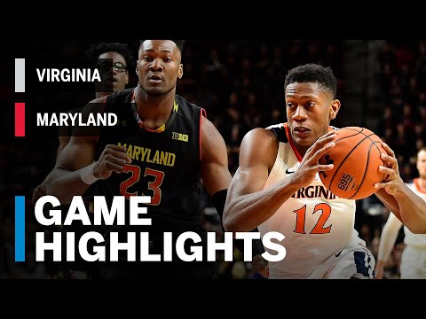 Highlights: Virginia at Maryland | Big Ten Basketball | ACC/Big Ten Challenge