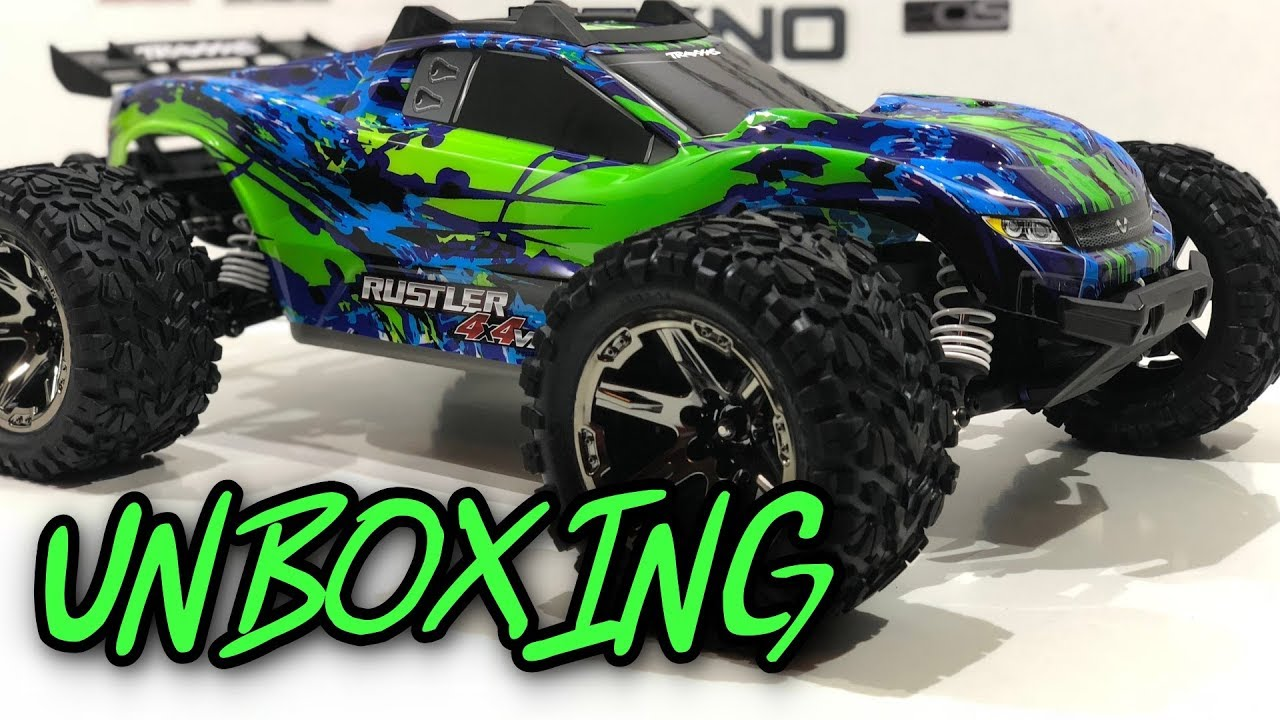 Traxxas Rustler 4x4 Vxl Unboxing German Youtube Related Keywords Suggestions Long