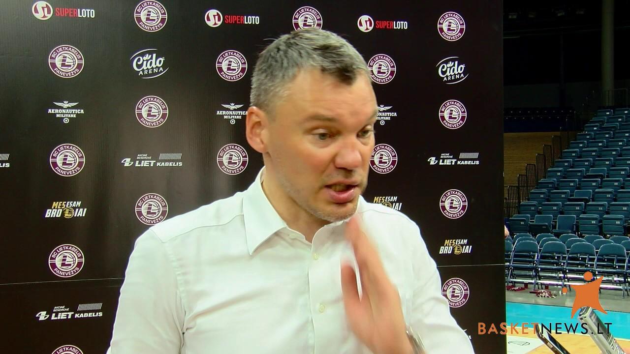 """Šarūnas Jasikevičius: """"Po Eurolygos nesugebu motyvuoti vyrų"""""""