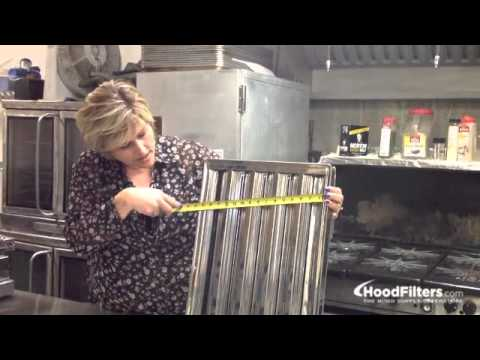Exhaust hood filters how to measure hood filters for - Commercial grade bathroom exhaust fans ...