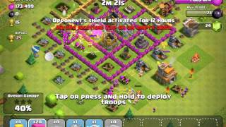 320k Gold and elixir attack- Clash Of Clans