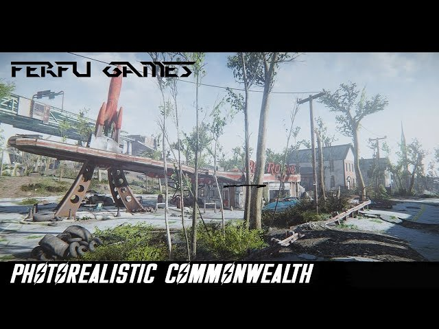 Fallout 4 Mod Photorealistic Commonwealth+29Mods