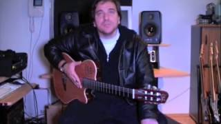 Ràk Béla - AXON guitar synthesizer demo AXON gitàrszintetizàtor bemutatò