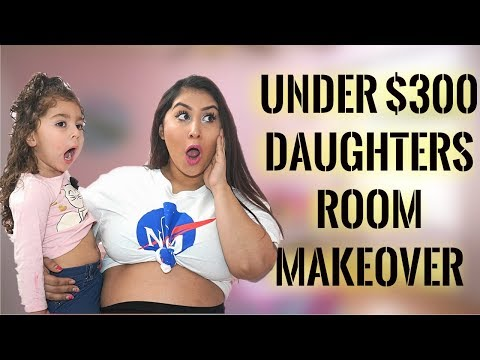 SURPRISING My Daughter with her ROOM MakeOver!($300 Budget)
