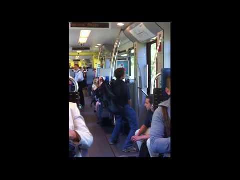 Mann- Befriedigt sich im Zug