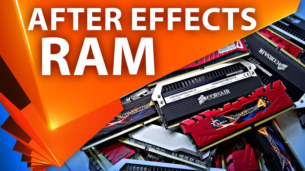 Зависимость скорости рендера After Effects от количества доступной памяти - AEplug 178