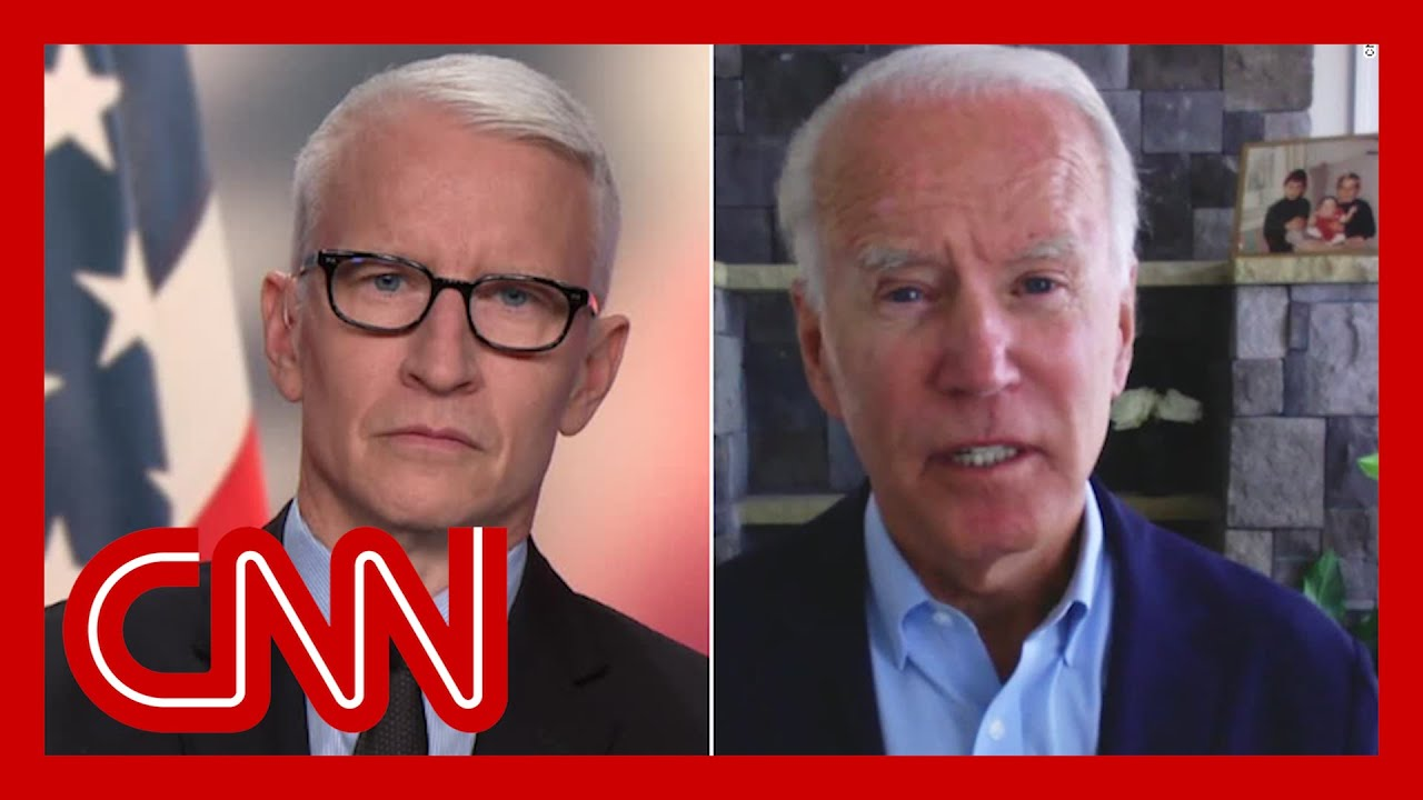 Joe Biden says Trump and allies are 'rooting for violence'
