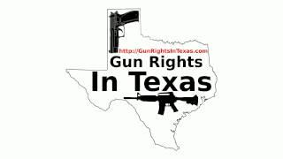 Gun Rights In Texas # 031