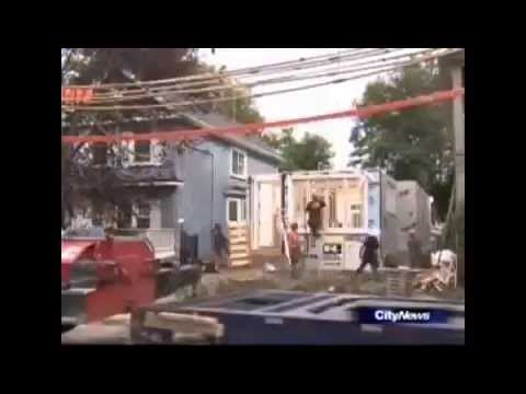Royal Homes – Prefabricated Home Moving into Downtown Toronto – Ontario