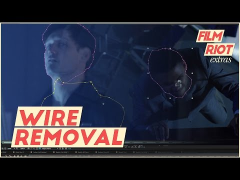 Tutorial: Wire Removal in After Effects
