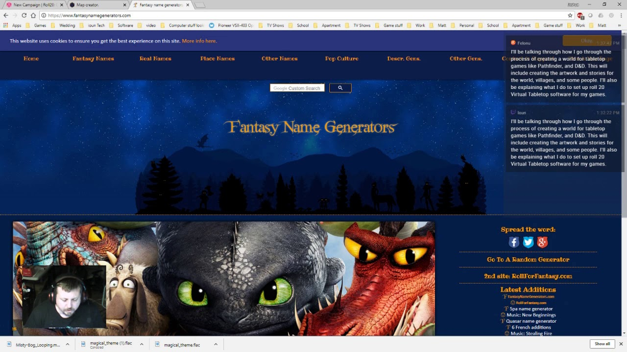 Images of Fantasy Human Name Generator - #rock-cafe