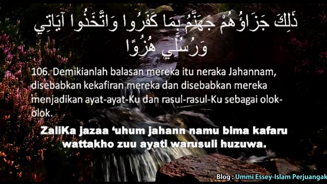 Qs 18106 Surah 18 Ayat 106 Qs Al Kahfi Tafsir Alquran