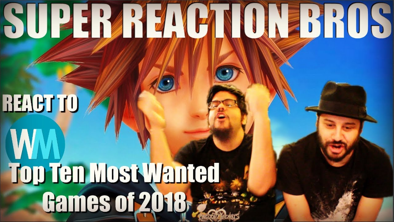 SRB Reacts to WatchMojo's Top 10 Most Wanted Games of 2018