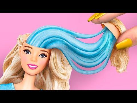 8 DIY Antistress Strani / Bellissimi Trucchi Per Barbie Che Vorrai Provare Subito