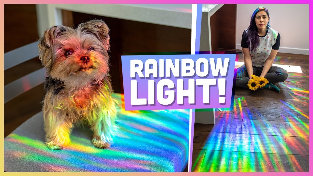 How to Make a Rainbow Room - DIY