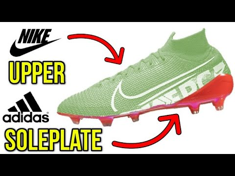 COMBINING BOOTS TO MAKE THE ULTIMATE FOOTBALL BOOTS! *ANY UPPER WITH ANY SOLEPLATE*